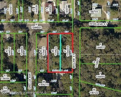 Brooksville Residential Lots & Land For Sale: O Highland
