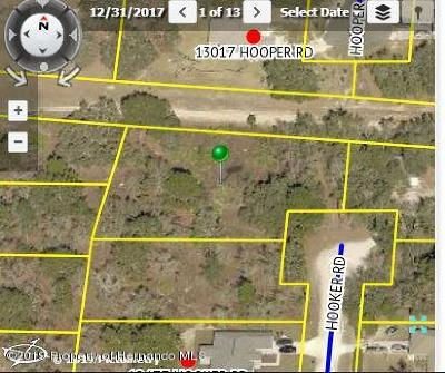 Weeki Wachee Residential Lots & Land For Sale: Hooker Road