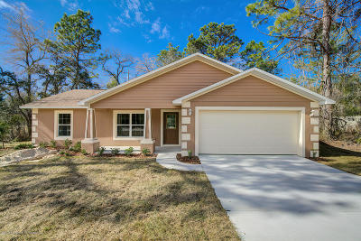 Weeki Wachee Single Family Home For Sale: 12476 Jaybird Road