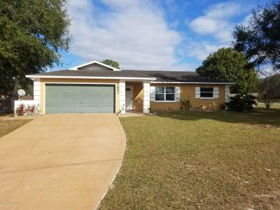 Spring Hill Single Family Home For Sale: 1402 Bishop Road