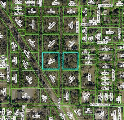 Brooksville Residential Lots & Land For Sale: Zoller Street