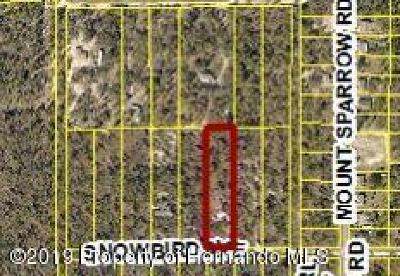 Weeki Wachee Residential Lots & Land For Sale: 10409 Snowbird Avenue