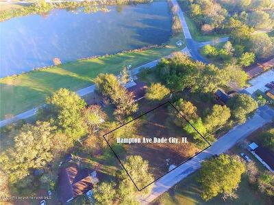 Dade City Residential Lots & Land For Sale: Hampton Avenue