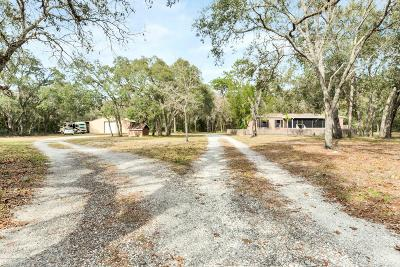Spring Hill(Pasco) Mobile/Manufactured For Sale: 15601 Helen K