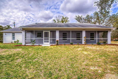Brooksville Single Family Home For Sale: 6025 Hope Hill Road