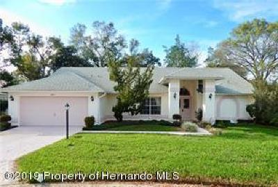 Spring Hill Single Family Home For Sale: 2267 Grandfather