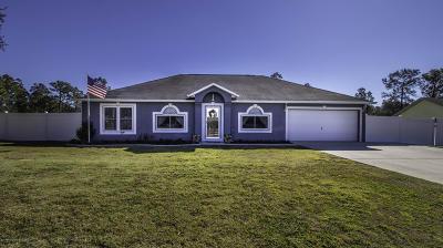 Spring Hill Single Family Home For Sale: 5406 Landover Boulevard