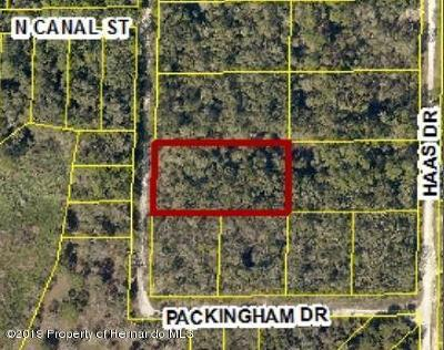 Ridge Manor Residential Lots & Land For Sale: Packingham Drive #Lot 10