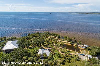 Weeki Wachee Single Family Home For Sale: 10492 Pine Island Drive