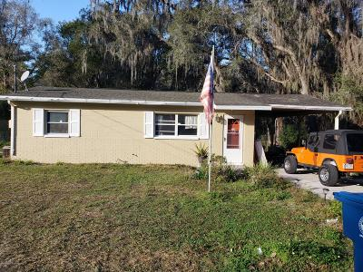 Brooksville Single Family Home For Sale: 240 Hickory Street