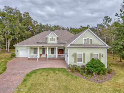 Brooksville Single Family Home For Sale: 4524 Hickory Oak Drive