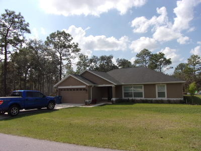 Hernando County Single Family Home For Sale: 12415 Neeld Street