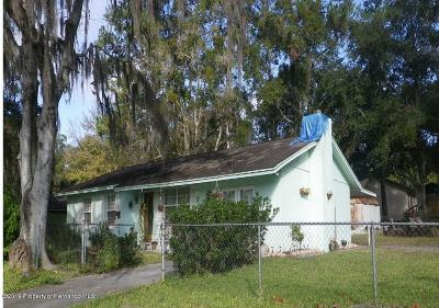 Hernando County Single Family Home For Sale: 200 W Dr M L King Jr Boulevard