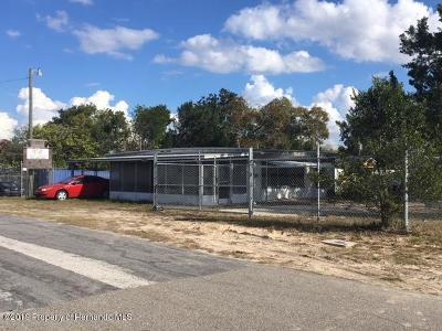 Weeki Wachee Single Family Home For Sale: 7262 Thurston Street
