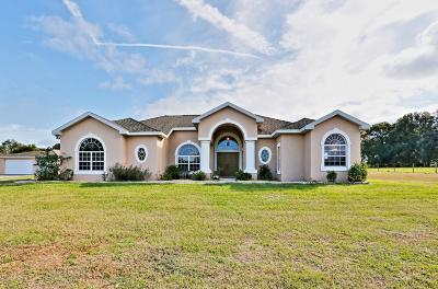 Dade City Single Family Home For Sale: 18300 Bradshaw Road Road