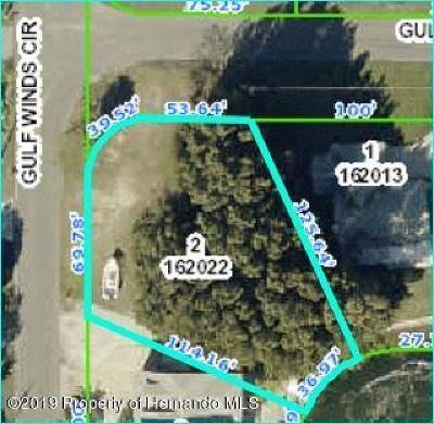 Hernando Beach Residential Lots & Land For Sale: 3134 Gulfview Drive