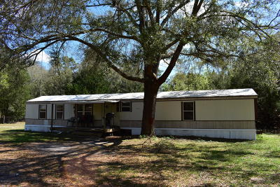 Brooksville Mobile/Manufactured For Sale: 25509 Ash Street