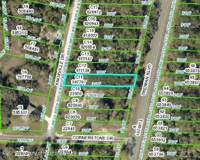 Ridge Manor Residential Lots & Land For Sale: Knoxville Drive