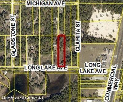 Weeki Wachee Residential Lots & Land For Sale: Long Lake Avenue #Lots 118