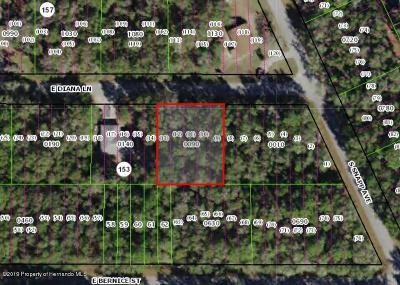 Inverness Residential Lots & Land For Sale: 3636 E Diana Lane