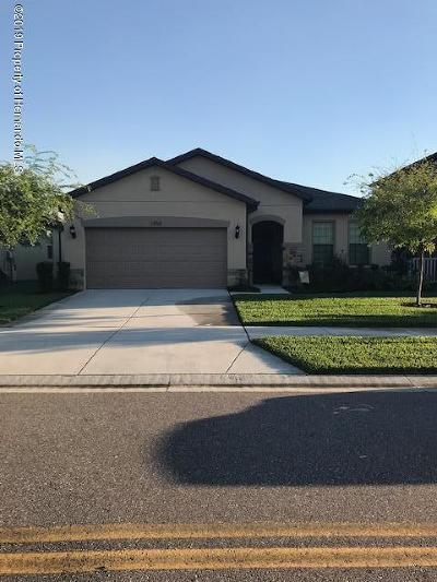 Brooksville Single Family Home For Sale: 1858 Trillium Boulevard