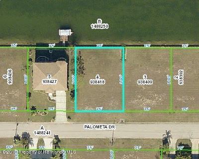 Hernando Beach Residential Lots & Land For Sale: 3447 Palometa Drive