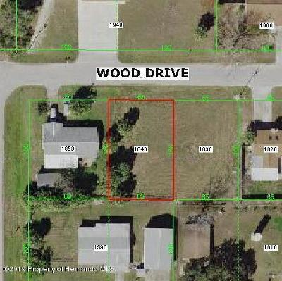 Hudson Residential Lots & Land For Sale: Wood Drive