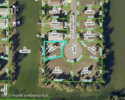 Hernando Beach Residential Lots & Land For Sale: Rose Arbor