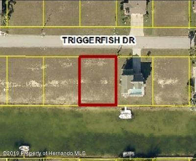 Hernando Beach Residential Lots & Land For Sale: Triggerfish Drive #Lot 50
