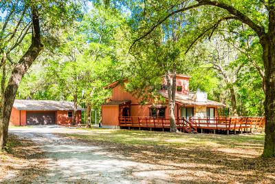 Brooksville Single Family Home For Sale: 8108 Shaw Road