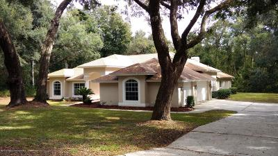 Brooksville Single Family Home For Sale: 10126 Weeks Drive