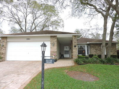 Spring Hill, Spring Hill(pasco), Springhill Single Family Home For Sale: 2164 Carriage Lane