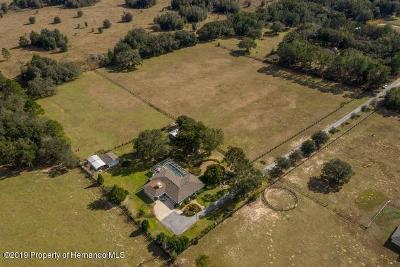 Inverness Single Family Home For Sale: 4789 E Hillsdale Lane