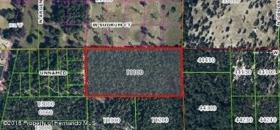 Crystal River Residential Lots & Land For Sale: 5947 N Summerwind Avenue