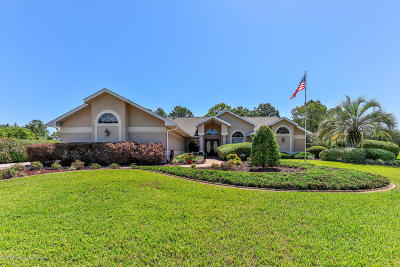 Weeki Wachee Single Family Home For Sale: 9336 Bearfoot Trail