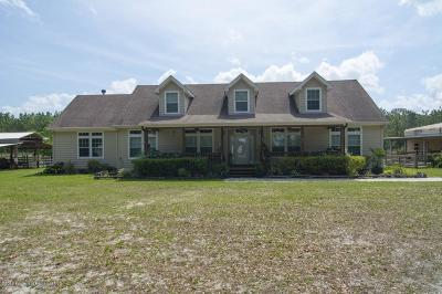 Nobleton Single Family Home For Sale: 15040 Lucilles Shady Lane