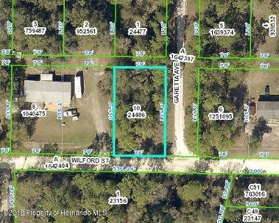 Webster Residential Lots & Land For Sale: Wilford Street