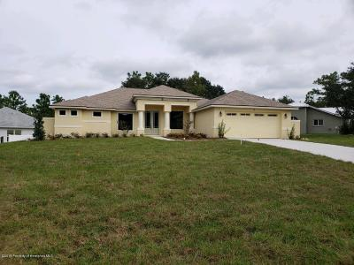 Homosassa Single Family Home For Sale: 2 S Hackberry Court