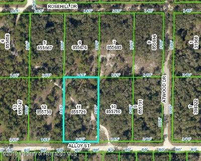 Webster Residential Lots & Land For Sale: Alloy