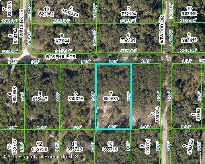 Webster Residential Lots & Land For Sale: Rosehill