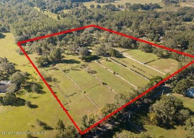Brooksville Residential Lots & Land Active - Under Contract: 23098 Jacobson Road