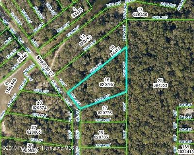 Ridge Manor Residential Lots & Land For Sale: Sharon Court