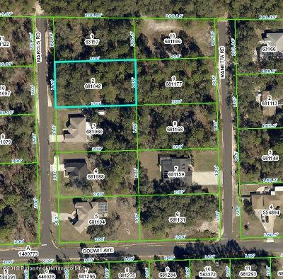 Weeki Wachee Residential Lots & Land For Sale: Marcus Road