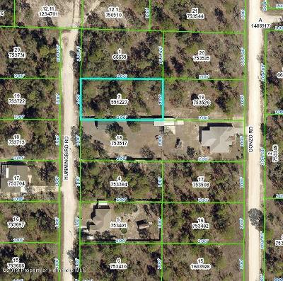 Weeki Wachee Residential Lots & Land For Sale: Hummingbird Road