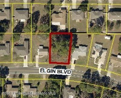 Spring Hill Residential Lots & Land For Sale: Elgin Boulevard