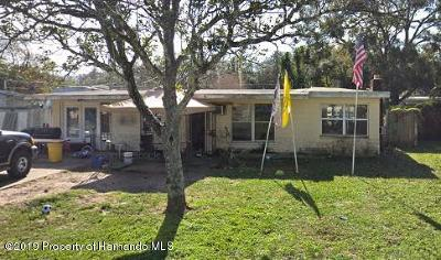 New Port Richey Single Family Home For Sale: 7324 Cypress Drive