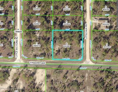 Weeki Wachee Residential Lots & Land For Sale: 0 0 Thrasher
