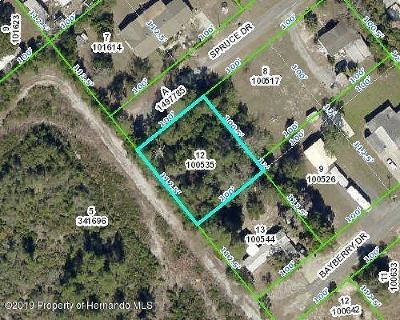 Weeki Wachee Residential Lots & Land For Sale: Spruce Drive
