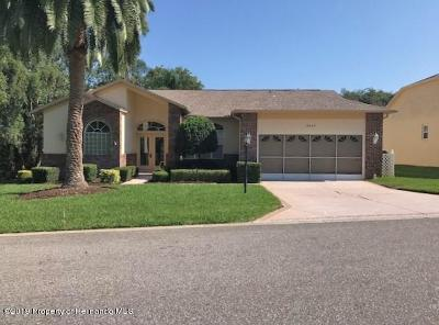 Spring Hill, Spring Hill(pasco), Springhill Single Family Home Active - Under Contract: 8067 Scenic Pine Court