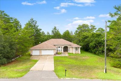 Weeki Wachee Single Family Home For Sale: 10427 Gypsy Avenue